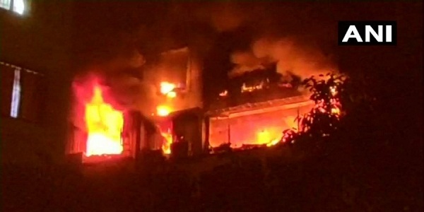 Five dead including four elders dead in fire at high-rise building in Mumbai