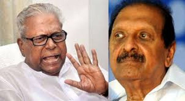 Left front is not an interim shelter for communal parties: VS strongly criticised R Balakrishna Pillai