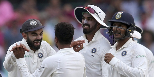 Historic win for India in Australia as fourth Test ends in a draw