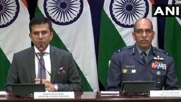 Rebuffed Pakistan air aggression but lost MiG, 1 pilot missing in action: India