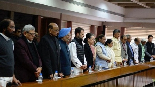 21 Opposition parties slam BJP for politicising sacrifices made by soldiers