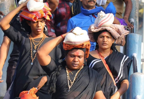 Transgenders stopped on way to Sabarimala, at menopause testing center in Pampa; complaint lodged