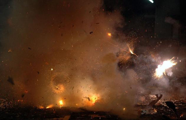 17 injured as firecracker hits crowd during pyrotechnic display at Nadavu temple in Udayamperoor