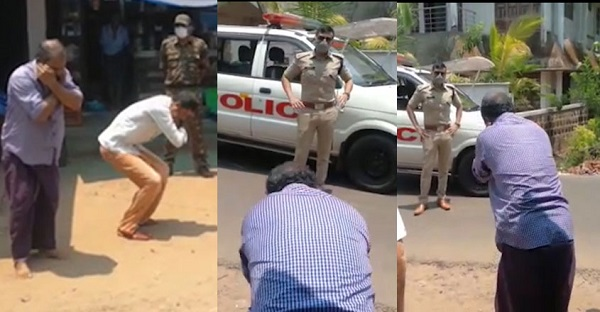 Yatish Chandra IPS receives flak for punishing people who were out during lockdown
