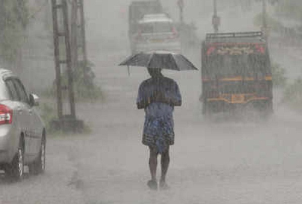 Heavy rains predicted from Tuesday, orange alert issued in two districts