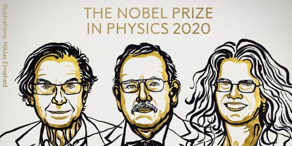Three scientists share Nobel prize in physics for black hole research