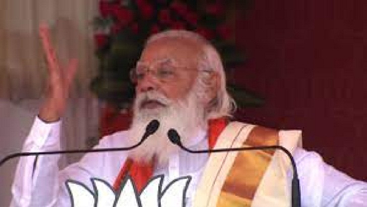 UDF did not spare even solar, LDF betrayed Kerala for a few pieces of gold, says PM Modi