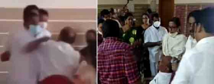 Fistfight during council meet; considering elections forgot pain of physical blow, says CPM councillor Binu Pullikakandam