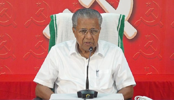 In hindsight if we now see all the things that has taken place, it's become evident that the deal between the BJP and the Congress was fixed some time back, says Pinarayi