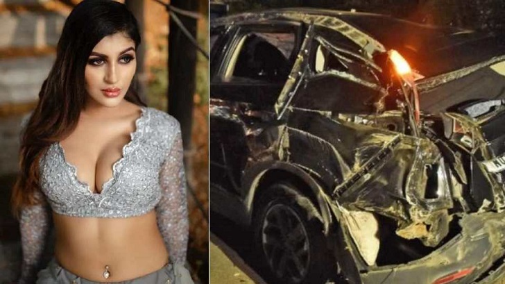 Tamil actress Yashika Anand severely injured in car accident, friend dies