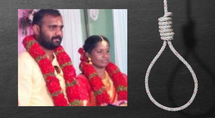 Newly married woman found hanging at husband's house; police questioning husband